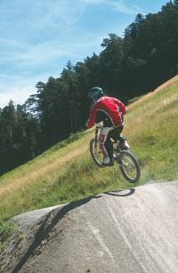 Downhill im Bike-Park Boppard